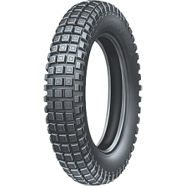 Michelin Trial Competition X11 Rear Tire - 4.00R-18 - 1987 Honda CR250 Michelin Bib Mousse