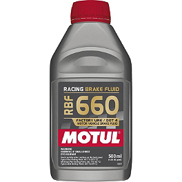 Motul RBF 660 Racing Brake Fluid - Motul DOT 5.1 Brake Fluid