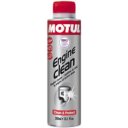Motul Engine Clean - Lucas Oil Octane Booster