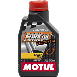 Motul Factory Line Synthetic Fork Oil - Motorex Racing Fork Oil - 1 Liter
