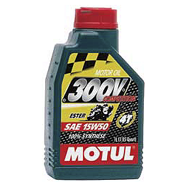 Motul 300V 4T Competition Synthetic Oil - Motul E-Tech 100 Synthetic Oil