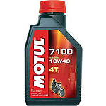 Motul 7100 Synthetic Oil - Motorcycle Fluids and Lubricants