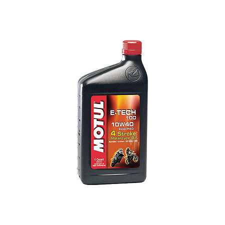 Motul E-Tech 100 Synthetic Oil - Main