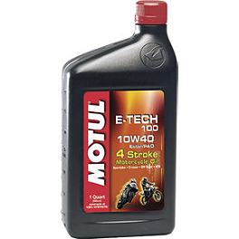 Motul E-Tech 100 Synthetic Oil - Motul 3000 Petroleum Oil