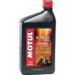 Motul E-Tech 100 Synthetic Oil - Dirt Bike Engine Oil