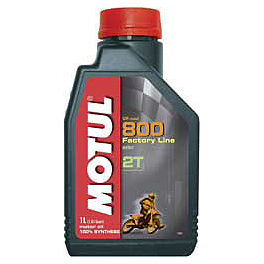 Motul 800 2T Pro Racing Premix - Motul 510 2T Synthetic Blend Premix