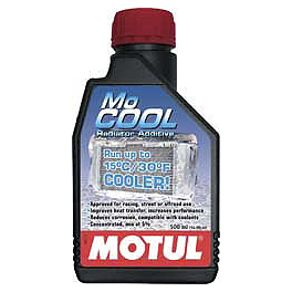 Motul Mocool Radiator Additive - Liquid Performance Ice Water Racing Coolant - 64oz