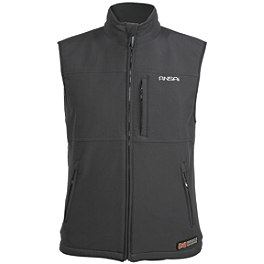 Mobile Warming Classic Softshell Vest - VentureHeat 370 Quilted Heated Nylon Vest