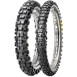 Maxxis IT 250 / 450F Tire Combo - 1999 Suzuki DR650SE Sargent World Sport Performance Seat With Black Welt
