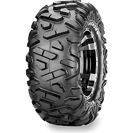 Maxxis Bighorn Radial Rear Tire - 26x10-15 - 2010 Kawasaki BRUTE FORCE 650 4X4 (SOLID REAR AXLE) Maxxis Ceros Rear Tire - 23x8R-12