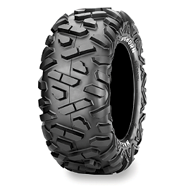 Maxxis Bighorn Rear Tire - 26x11-14 - 2005 Polaris RANGER 500 2X4 DWT Diablo Front Wheel - 14X6 Chrome