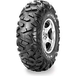 Maxxis Bighorn Radial Front Tire - 26x8-15 - 2013 Yamaha GRIZZLY 700 4X4 POWER STEERING Maxxis Ceros Rear Tire - 23x8R-12