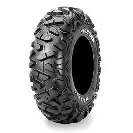 Maxxis Bighorn Front Tire - 26x9-12 - 2011 Yamaha GRIZZLY 450 4X4 POWER STEERING Maxxis Ceros Rear Tire - 23x8R-12
