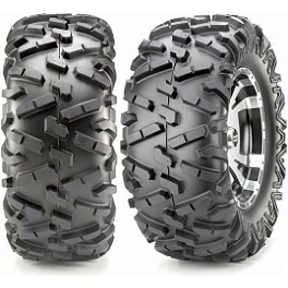 Maxxis Bighorn Rear Tire - 27x12-12 - 2011 Yamaha GRIZZLY 550 4X4 POWER STEERING Maxxis Bighorn Front Tire - 26x9-12