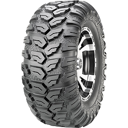 Maxxis Ceros Rear Tire - 26x11R-15 - 2008 Can-Am OUTLANDER MAX 800 XT Maxxis Bighorn Front Tire - 26x9-12