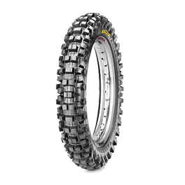 Maxxis Maxxcross Desert IT Rear Tire - 110/90-19 - 1990 Kawasaki KX500 Maxxis Maxxcross SI Front Tire - 90/100-21