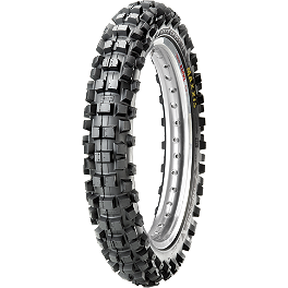 Maxxis Maxxcross IT Rear Tire - 100/100-18 - 1975 Suzuki RM125 Maxxis Maxxcross Desert IT Front Tire - 80/100-21