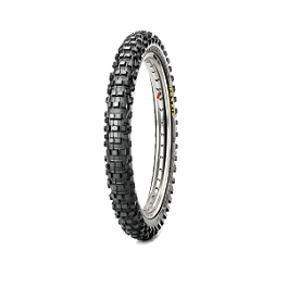 Maxxis Maxxcross IT Front Tire - 60/100-14 - Maxxis Maxxcross SI Rear Tire - 100/90-19