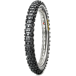 Maxxis Maxxcross IT Front Tire - 80/100-21 - 2005 Husqvarna TC450 Maxxis Maxxcross SI Rear Tire - 120/90-19