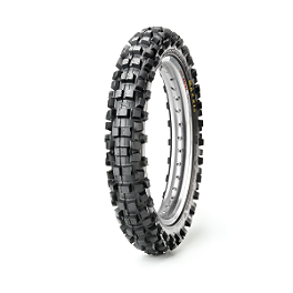 Maxxis Maxxcross IT Rear Tire - 90/100-14 - 1985 Kawasaki KX80 Cheng Shin Rear Paddle Tire - 90/100-14 - 6 Paddle