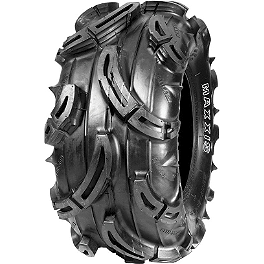 Maxxis Mudzilla Front / Rear Tire - 25x10-12 - 2010 Yamaha GRIZZLY 350 4X4 IRS Maxxis Ceros Rear Tire - 23x8R-12