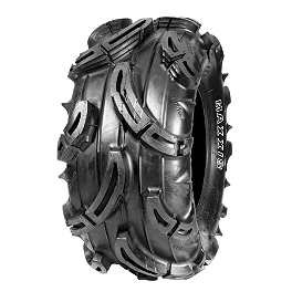 Maxxis Mudzilla Tire - 27x12-12 - 2010 Can-Am OUTLANDER 650 MotoSport Alloys Elixir Front Wheel - 12X7 Bronze