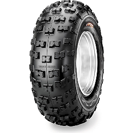 Maxxis RAZR 4-Speed Radial Rear Tire - 25x10R-12 - 2010 Yamaha GRIZZLY 350 4X4 Maxxis Bighorn Front Tire - 26x9-12