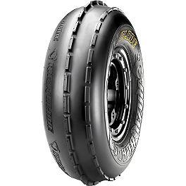 Maxxis RAZR Blade Front Tire - 22x8-10 - 2009 Yamaha RAPTOR 90 Maxxis RAZR Blade Sand Paddle Tire - 18x9.5-8 - Right Rear