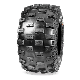 Maxxis iRAZR Rear Tire - 20x11-10 - 1985 Yamaha YFM 80 / RAPTOR 80 Maxxis RAZR Blade Sand Paddle Tire - 18x9.5-8 - Right Rear