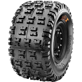 Maxxis RAZR XC Cross Country Rear Tire - 20x11-9 - 2003 Kawasaki KFX50 Maxxis RAZR Blade Sand Paddle Tire - 18x9.5-8 - Left Rear