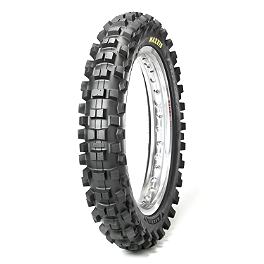 Maxxis Maxxcross SI Rear Tire - 100/100-18 - 1987 Suzuki RM125 Maxxis Maxxcross Desert IT Front Tire - 80/100-21