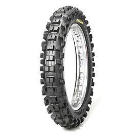 Maxxis Maxxcross SI Rear Tire - 120/80-19 - 1997 Yamaha YZ250 Michelin Inner Tube - 3.25-19