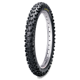 Maxxis Maxxcross SI Front Tire - 80/100-21 - 2002 Husqvarna TE570 Maxxis Maxxcross Desert IT Rear Tire - 110/100-18