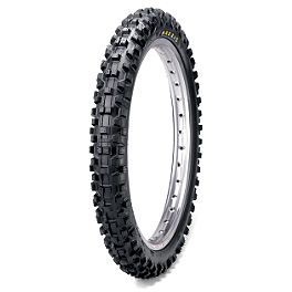 Maxxis Maxxcross SI Front Tire - 90/100-21 - 2002 Husqvarna TE570 Maxxis Maxxcross Desert IT Rear Tire - 110/100-18