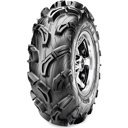 Maxxis Zilla Front Tire - 28x9-14 - 2009 Kawasaki BRUTE FORCE 650 4X4 (SOLID REAR AXLE) Maxxis Ceros Rear Tire - 23x8R-12