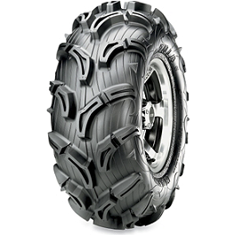 Maxxis Zilla Rear Tire - 25x10-12 - 2010 Yamaha GRIZZLY 550 4X4 POWER STEERING Maxxis Bighorn Front Tire - 26x9-12