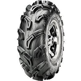 Maxxis Zilla Front Tire - 27x10-14 - 2009 Yamaha GRIZZLY 550 4X4 POWER STEERING Maxxis Ceros Rear Tire - 23x8R-12
