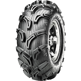 Maxxis Zilla Rear Tire - 28x12-12 - 2010 Yamaha GRIZZLY 550 4X4 POWER STEERING Maxxis Bighorn Front Tire - 26x9-12