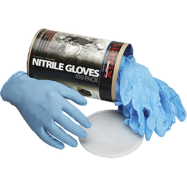 Matrix Concepts N1 Nitrile Gloves - 100-Pack - Motion Pro Powder Free Textured Nitrile Gloves