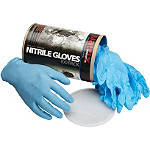 Matrix Concepts N1 Nitrile Gloves - 100-Pack - Motorcycle Work Gloves