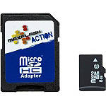 MaxFlash Action Class 10 Micro SD Memory Card - Dirt Bike Helmets - Sportbike & Street Bike Helmets