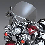 National Cycle Switchblade 2-Up Windshield With Mount Kit - National Cycle Cruiser Wind Shield and Accessories