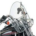 National Cycle Heavy Duty Wide Frame Beaded Windshield - Motorcycle Windshields & Accessories