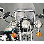National Cycle Touring / Chopped Heavy Duty Windshield Trim Kit - Cruiser Wind Shield and Accessories