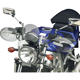 National Cycle Hand Deflector - Clear - 2009 Yamaha V Star 650 Custom - XVS65 National Cycle Dakota 3.0 Standard Windshield