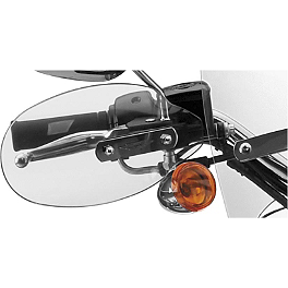 National Cycle Hand Deflector - Clear - 2004 Harley Davidson Night Train - FXSTBI National Cycle Light Bar