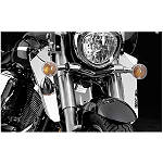 National Cycle Switchblade Windshield Chrome Lower - Cruiser Lowers and Wind Deflectors