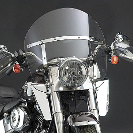 National Cycle Switchblade Chopped Windshield With Mount Kit - 1992 Harley Davidson Low Rider Custom - FXLR National Cycle Light Bar