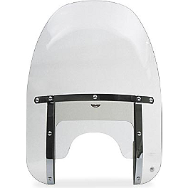 National Cycle Heavy Duty Narrow Frame Custom Windshield - 1992 Harley Davidson Sportster 883 - XLH883 National Cycle Light Bar