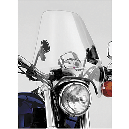 National Cycle Deflector Screen - 2002 Yamaha V Star 650 Custom - XVS650 National Cycle Dakota 3.0 Standard Windshield